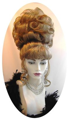 Literally the most fucking good wig in drag history Pin Up Hair, Big Hair, Vintage Hairstyles, Bun Hairstyles, Wedding Hairstyles, Wig Styles, Short Hair Styles, Rockabilly Hair Tutorials, Drag Wigs