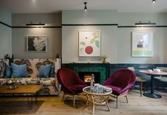 The Rose — Hotel, Bar and Restaurant in Deal, Kent Interior Styling, Interior Design, Hotel Interiors, Interiors Online, Marble Fireplaces, Bedroom With Ensuite, Dining Room Inspiration, Beautiful Interiors, Modern Design