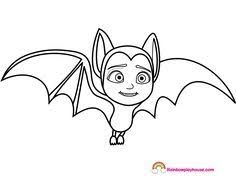 Image Result For Spring Vampirina Print Coloring Pages Bat