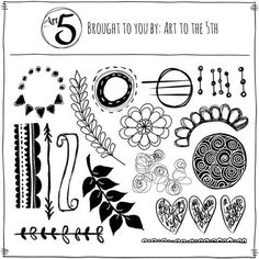 Art Fusion Rubber Stamp Sheet