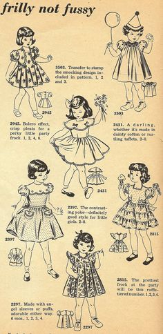 """Little Grey Bungalow: Patterns of the Past - """"Frilly Not Fussy"""""""
