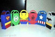 Resultado de imagen para dulceros para niños de superheroes