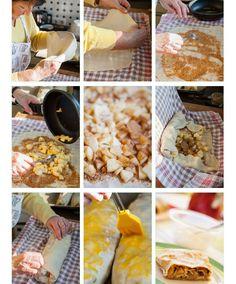 Klassisches Apfelstrudel-Rezept mit Schritt für Schritt Anleitung / How to make traditional viennese apple strudel