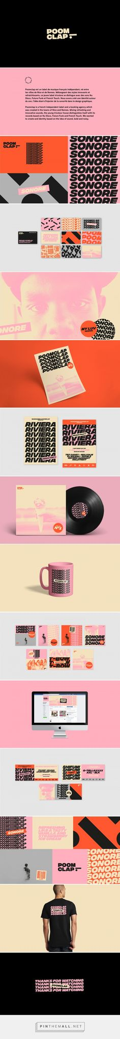 POOMCLAP French Record Label Branding by Studio Ouam   Fivestar Branding Agency – Design and Branding Agency & Curated Inspiration Gallery