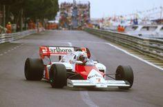 """f1pictures: """"Alain Prost McLaren - TAG Porsche 1984 """""""