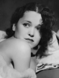 Maureen O'Sullivan in a 1931 photo by George Hurrell