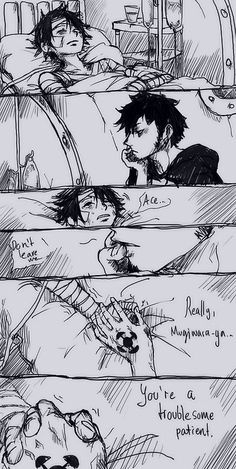 I can so see Law doing this, though he'd never admit it. obviously Luffy would never remember... :(