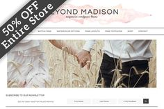Beyond Madison WordPress Theme - Blog