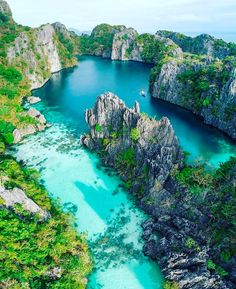 Big Lagoon, El Nido, Palawan ❤️ - Travel The World Vacation Destinations, Dream Vacations, Vacation Places, Cruise Vacation, Destination Voyage, Philippines Travel, Philippines Palawan, Philippines Tattoo, Visit Philippines