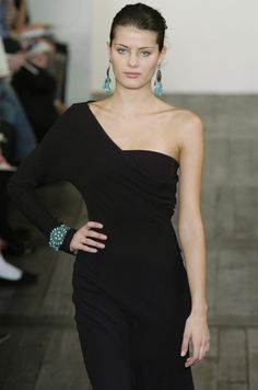 Ralph Lauren-black+hint of turquoise.