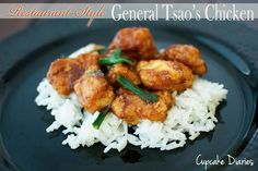 Restaurant-Style General Tsaos Chicken - So easy to make and it tastes just like something from a restaurant! | cupcakediariesblog.com | #chicken #recipe