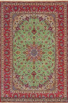 Isfahan Medallion Hand Knotted Wool Silk Rug Cyrus Persian Rugs And Carpets Modern Made Australia S Largest Online