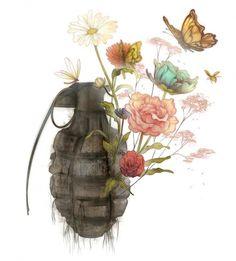 Mettete dei fiori nei vostri cannoni...
