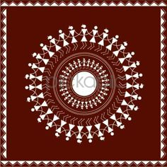 Traditional Indian Warli Designs to add the Desi touch to your designs Worli Painting, Fabric Painting, Traditional Paintings, Traditional Art, Art Sketches, Art Drawings, Alpona Design, Indian Folk Art, Madhubani Painting