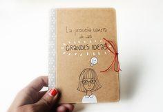 Libreta Grandes ideas | Nuria Díaz