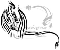 Dragon Tattoo by ~Lemondragon on deviantART