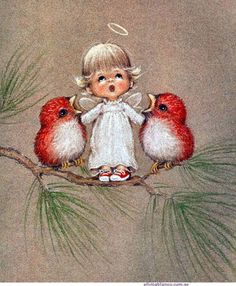 ❤️Little Angels ~ Artist Ruth Morehead