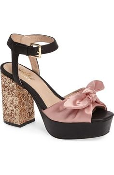 20d5fea0e38 Main Image - Shellys London Deepali Knotted Platform Sandal (Women) Block  Heel Platform Sandals