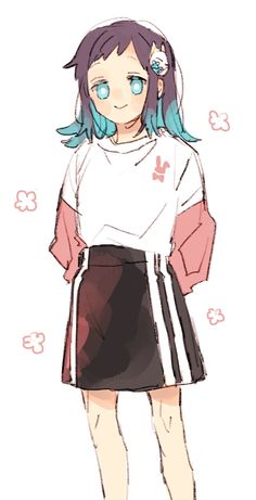 Cute Anime Character, Character Art, Character Design, Fan Anime, Anime Manga, Gender Bender Anime, Beautiful Series, Demon Hunter, Sketchbook Inspiration