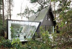design: a-framed cottage extension