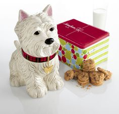 """""""Westie"""" Cookie Jar Sold Out thestylecure.com"""