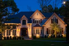 House Ground Lighting | Outdoor Accents Lighting | Home ...