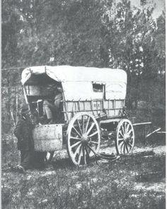Civil War Telegraph wagon, 1865