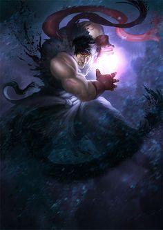 Street Fighter, Ryu, by buddy jiang
