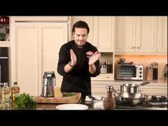 Chef Fabio Viviani: Pancetta Fettuccini with Bertolli Olive Oil Recipe