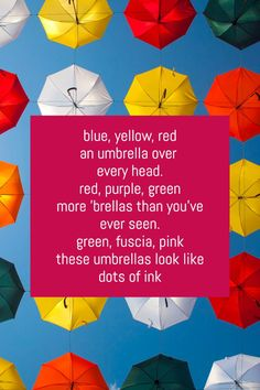 From the promise of a raindrop to the blissful laziness of a rainy day, these 10 short poems about rain have range, spirit, and a touch of humor. Rain Poems, Rain Quotes, Umbrella Quotes, Free Verse, Short Poems, Rain Drops, Good Morning Quotes, Haiku, School Projects
