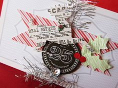 Homespun with Heart: a new Christmas card kit available...