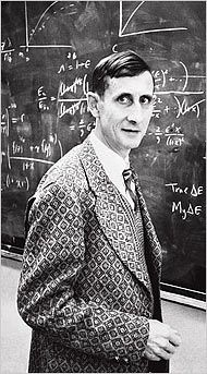 Freeman Dyson - (1923 - ) Physicist, futurist and mathematician focused on quantum electrodynamics, astronomy and nuclear engineering. He has suggested a cosmic metaphysics of the mind and theorized about bio-engineered colonies in space.