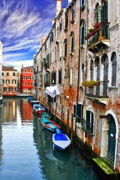 Venice - Places to see in Italy  http://www.airlinecreditcards.com/travelhacker/30-places-to-find-cheap-airline-tickets/