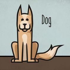 Prairie Dog / Dog | Animation assets Ben bezig met de voorbereiding van een korte animatie over 'pratende' dieren. Deze dieren spelen een rol.