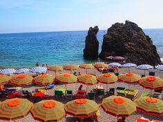AFAR.com Highlight: Sunbathing in Monterosso al Mare by Kristin Cunningham Monterosso Al Mare, Italy