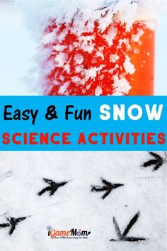 Science Activities For Kids, Science Fair Projects, Science Experiments Kids, Teaching Science, Stem Activities, Teaching Tips, Preschool Winter, Preschool Kindergarten, Steam Learning