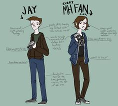 Oh my god. This is accurate. Too accurate. Is my existence just to serve as a Fem!Jay!?