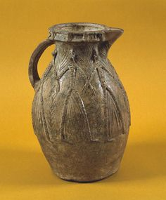Medieval pottery jug from Cardiff
