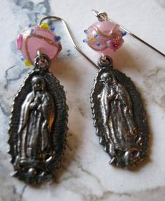 Guadalupe Earrings by jansbeads on Etsy, $18.50
