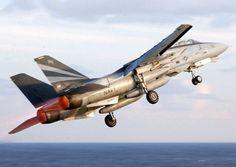 A Grumman F-14A Tomcat.