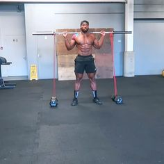 Try these Banded squat jumps (or just the barbell as an easier alternative) with HIIT it up and add in some toe taps and ski jumps for a full workout session! Sport Fitness, Muscle Fitness, Target Fitness, Gain Muscle, Health Fitness, Muscle Food, Gym Workout Videos, Gym Workouts, Extreme Workouts