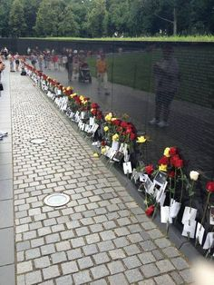 Vietnam War Memorial on Fathers Day