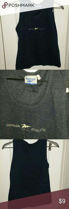 Medium breathable Reebok tank This is a well-made tank top because it's breathable but also layered and comfortable Reebok Tops