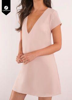 Vestidos para mujer Limonni Novalee LI1896 Cortos Casuales Vivi Fashion, Womens Fashion, Cute Short Dresses, Sleep Dress, Office Dresses, Bra Tops, Dressmaking, Dress Skirt, Cute Outfits