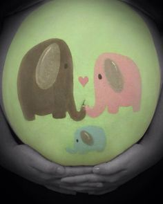 Pregnant Belly Painting I Did Lishelle Simpson - Bellypainting - Pregnant Women Future Maman, Future Baby, Bump Painting, Rock Painting, Pregnant Belly Painting, Belly Art, Pregnant Halloween Costumes, Pregnancy Photos, Maternity Photos