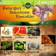 Karaciğeri Temizleyen Yiyecekler   Kendini İyi Hisset www.vitaminler.com