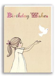 "Greeting card ""Birthday wishes"" | Belle & Boo | www.jollyfish.be"
