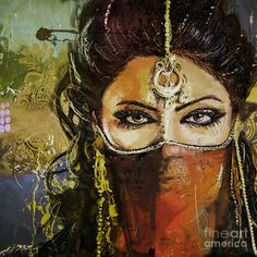 "Mahnoor shah works on illustration, figurative. Mahnoor Shah (Shah Mazhnur) - Pakistani contemporary talented artist, also known as ""Mano"". Born in 1991, i"
