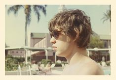 Mick Jagger and his shades in Clearwater, Florida