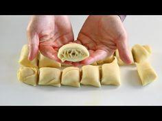 El Yapımı Milföy Poğaça (Çok Kolay) (videolu) Tarifi nasıl yapılır? 9.340 kişinin defterindeki bu tarifin detaylı anlatımı ve deneyenlerin fotoğrafları burada. Melted Butter, Feta, Tart, Waffles, Garlic, Clean Eating, Muffin, Make It Yourself, Vegetables